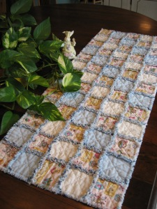 Easter table runner from Country By Design