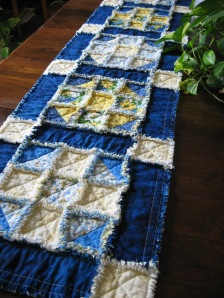 Shoo-Fly Block Table Runner